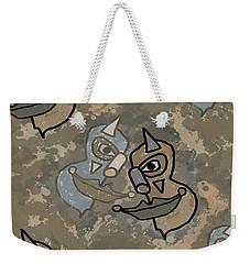 Wild Clown Weekender Tote Bag