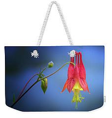 Wild Columbine Weekender Tote Bag