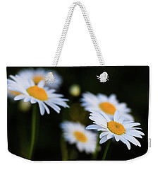 Weekender Tote Bag featuring the photograph Wild Daisies by Cristina Stefan