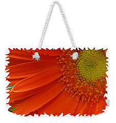 Wild Daisy Weekender Tote Bag by Shari Jardina