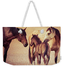 Wild Family Weekender Tote Bag by Mary Hone