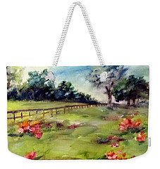 Texas Wild Flower Road Trip  Weekender Tote Bag