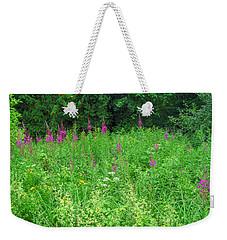 Wild Flowers And Shrubs In Vogelsberg Weekender Tote Bag