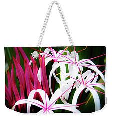 Wild Flowers In Hawaii Weekender Tote Bag