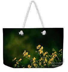 Evening Wild Flowers Weekender Tote Bag