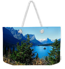 Wild Goose Island In The Fall Weekender Tote Bag