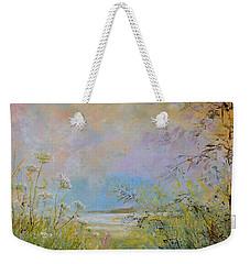 Wild Grasses Of Saugatuck Weekender Tote Bag