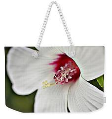 Wild Hibiscus Moscheutos_2a Weekender Tote Bag