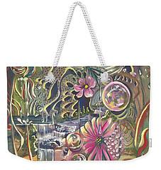 Wild Honeycomb Weekender Tote Bag
