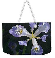 Wild Iris 2 Weekender Tote Bag by I'ina Van Lawick