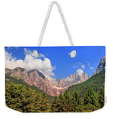 Weekender Tote Bag featuring the photograph Wild Italy by Roy McPeak