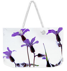 Wild Knotted Cranesbill Weekender Tote Bag by Baggieoldboy