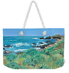 Wild Lupin At Gerstle Cove Park In May Weekender Tote Bag