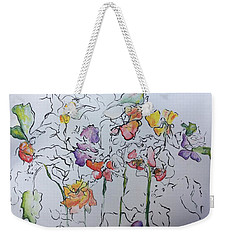 Wild Menagerie  Weekender Tote Bag by Gail Butters Cohen