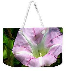 Wild Morning Glory Weekender Tote Bag