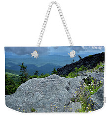 Wild Mountain Flowers Weekender Tote Bag