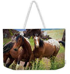 Wild Mustang Brothers Weekender Tote Bag