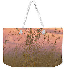 Weekender Tote Bag featuring the photograph Wild Oats by Linda Lees