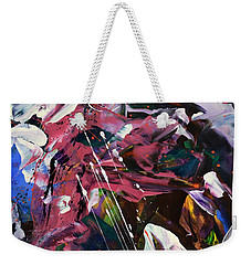 Wild Orchid Abstract Weekender Tote Bag