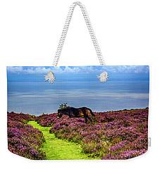 Wild Pony On Exmoor, Uk Weekender Tote Bag