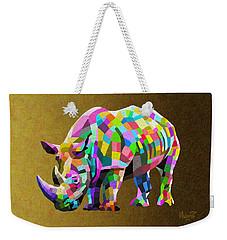 Wild Rainbow Weekender Tote Bag by Anthony Mwangi