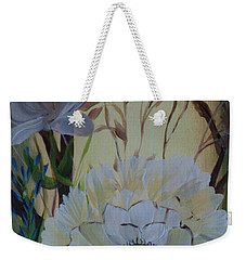 Wild Rose In The Forest Weekender Tote Bag by Donna Brown