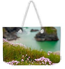 Wild Sea Pinks In Cornwall Weekender Tote Bag