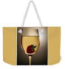 Weekender Tote Bag featuring the photograph Wild Strawberry by Joe Bonita