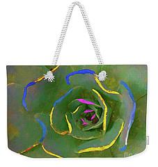 Wild Succulent Weekender Tote Bag