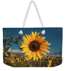 Wild Sunflower Weekender Tote Bag by Jay Stockhaus