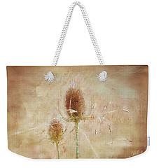 Wild Teasel Weekender Tote Bag