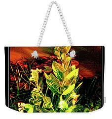 Wild Thai Lake Jasminum - Photo Painting Weekender Tote Bag by Ian Gledhill