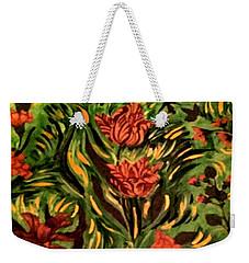 Wild Tulips Weekender Tote Bag