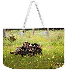 Wild Turkey's Dance Weekender Tote Bag