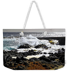 Wild Waters And Lava Rocks Weekender Tote Bag