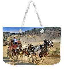 Wild West Ride Weekender Tote Bag by Donna Kennedy