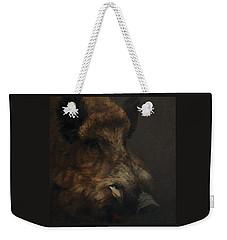 Wildboar Portrait Weekender Tote Bag