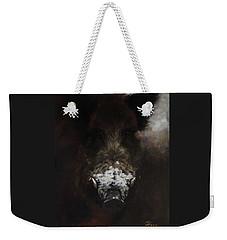 Wildboar With Snowy Snout Weekender Tote Bag