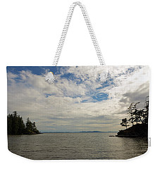 Wildcat Cove In Larrabee State Park Weekender Tote Bag
