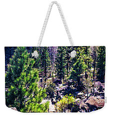 Wilderness Weekender Tote Bag by Nancy Marie Ricketts