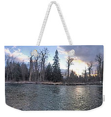 Weekender Tote Bag featuring the photograph Wilderness by Victor K