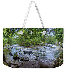 Weekender Tote Bag featuring the photograph Wilderness Waterway by Bill Pevlor