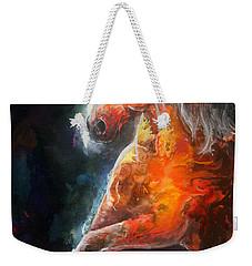 Wildfire Fire Horse Weekender Tote Bag