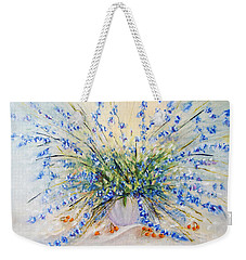 Wildflower Celebration Weekender Tote Bag