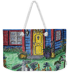 Wildflower Cottage Weekender Tote Bag