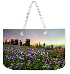 Wildflower Dawn Weekender Tote Bag