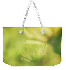 Wildflower..double Exposure Weekender Tote Bag