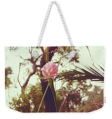 Wildflower I Weekender Tote Bag by Cassandra Buckley