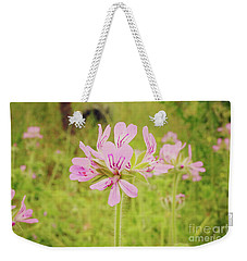 Weekender Tote Bag featuring the photograph Wildflower IIi by Cassandra Buckley