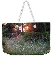 Wildflower Meadow At Sunset, Great Dixter Weekender Tote Bag
